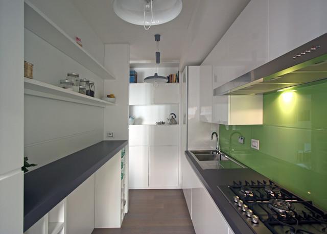 Appartamento l f in via tasso a roma contemporaneo for Appartamento design roma
