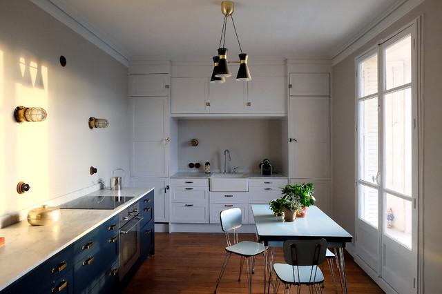 appartement vincennes modern kitchen paris by barthelemy seng architecte d 39 int rieur. Black Bedroom Furniture Sets. Home Design Ideas