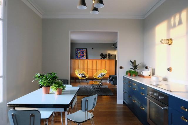 appartement vincennes r tro cuisine paris par barthelemy seng architecte d 39 int rieur. Black Bedroom Furniture Sets. Home Design Ideas