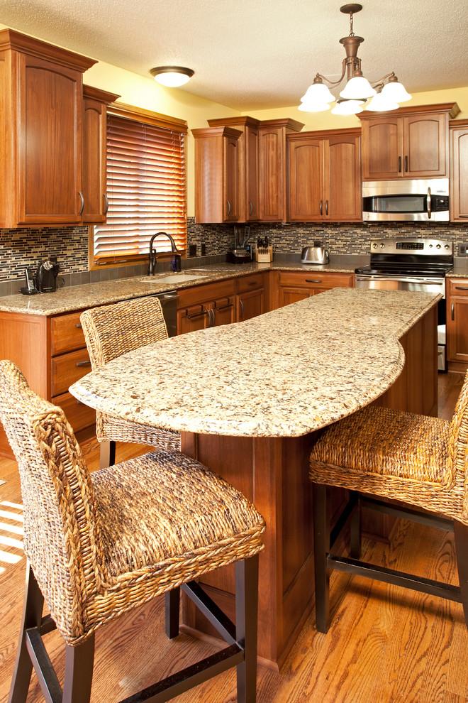 Apple Valley Lyptus wood Kitchen - Traditional - Kitchen ...
