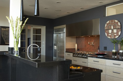 Applegate Tran Interiors modern kitchen