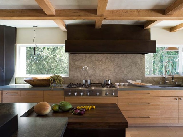 Applegate Tran Interiors contemporary-kitchen
