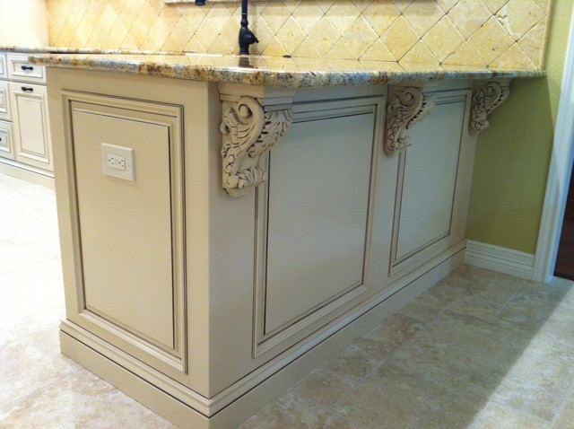 Applied Molding Kitchen Cabinets Traditional Kitchen Other Metro