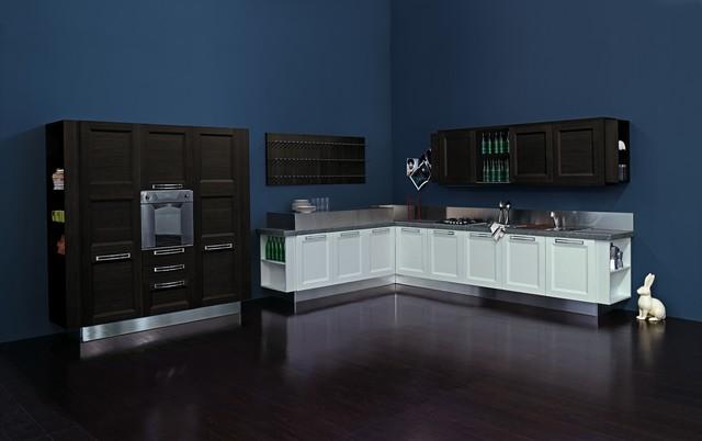 Aqua collection contemporary-kitchen