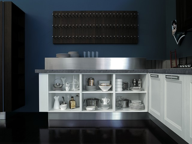 Aqua collection contemporary-kitchen