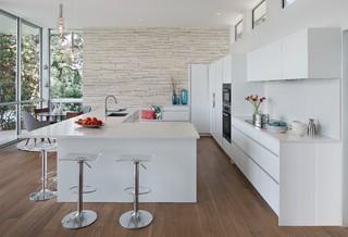 Aqua Verde Arete Kitchens Contemporary Kitchen