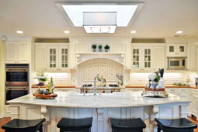Arcadia French Country traditional-kitchen