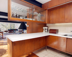 Architect - Jack Viks midcentury-kitchen