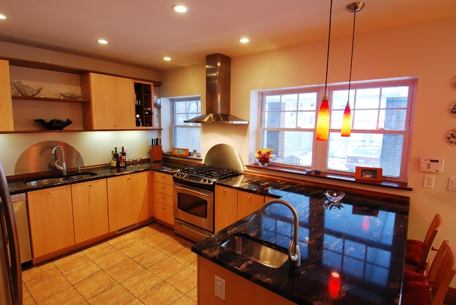 Architect's Residence - Kitchen contemporary-kitchen