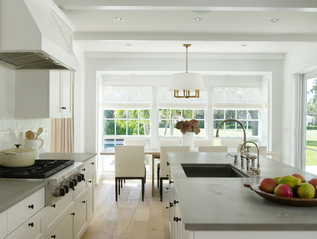 Architectural firm of Moulton Layne, P.L.  Florida remodel tropical-kitchen