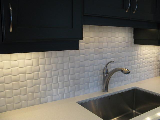 architectural kitchen backsplash eclectic kitchen
