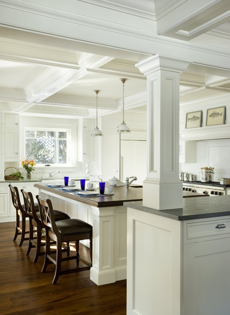 Kitchen Island With Columns fine kitchen island columns with intended ideas
