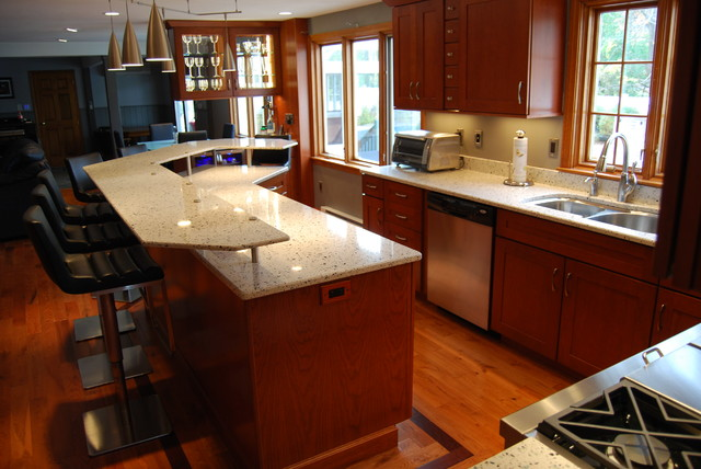Arctic - Transitional - Kitchen - Boston - by Merrimack Stone Industries