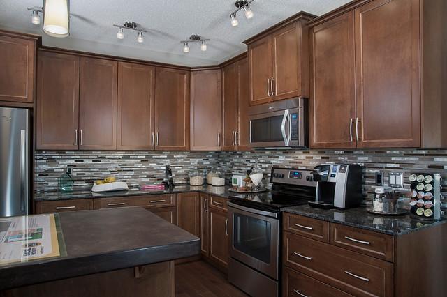 Arden Show Home In EvansRidge NW Calgary Transitional Kitchen Calgar