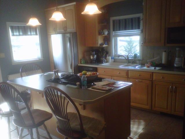 Ardmore, PA Kitchen #1 traditional-kitchen
