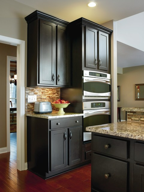 Aristokraft Cabinetry Double Oven Kitchen Cabinet Transitional