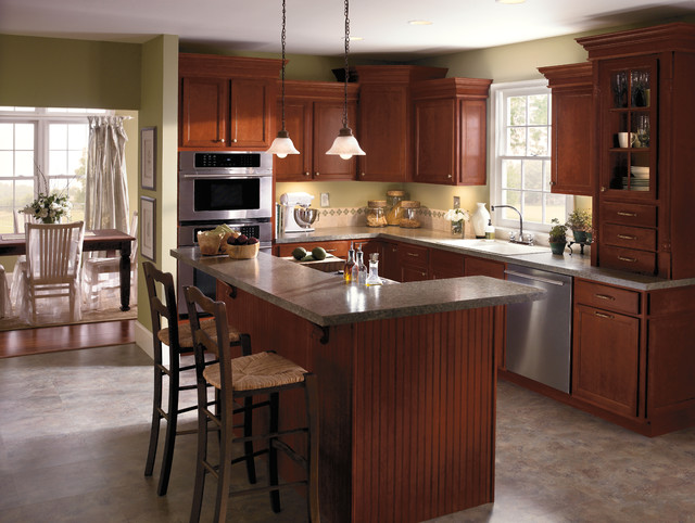 Aristokraft Cabinetry - Contemporary - Kitchen - indianapolis - by Great Kitchens & Baths