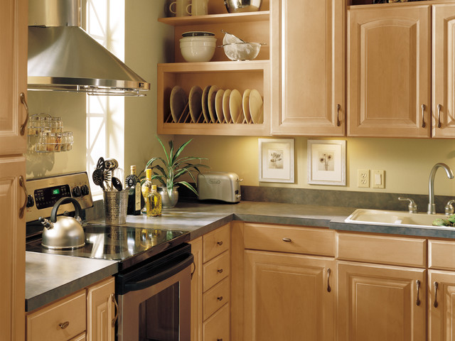 Aristokraft cabinetry for Aristokraft oak kitchen cabinets