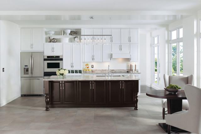 Painted White Kitchen Cabinets - Modern - Kitchen - other ...