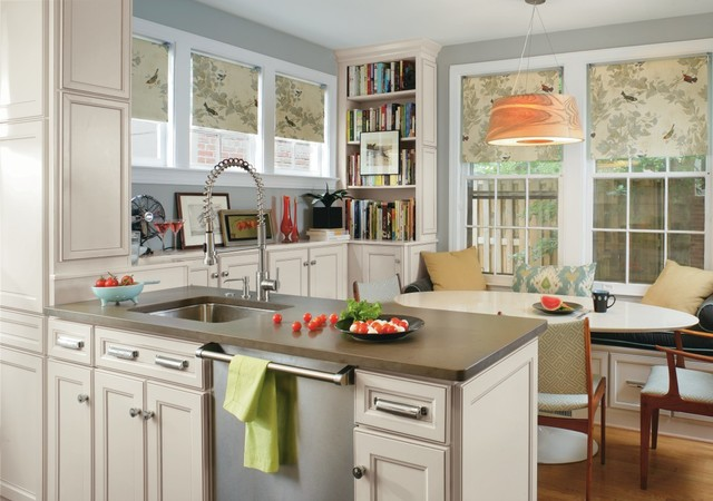 Transitional Eat In Kitchen Inspiration   Transitional Eat In Kitchen Photo  In Other With