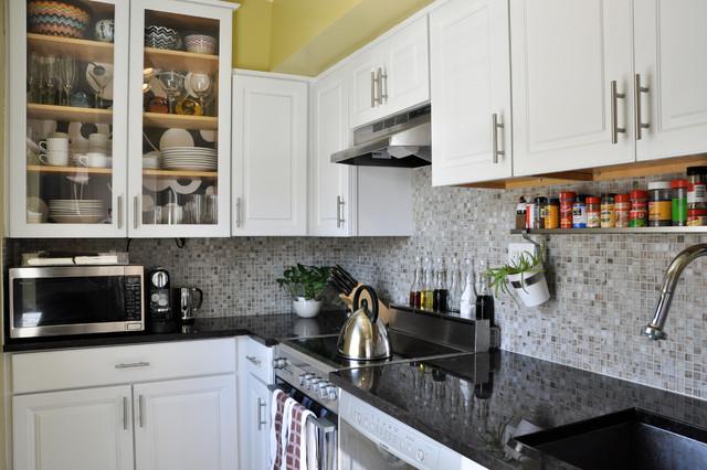 Arlington Condo - Transitional - Kitchen - dc metro - by CM Glover