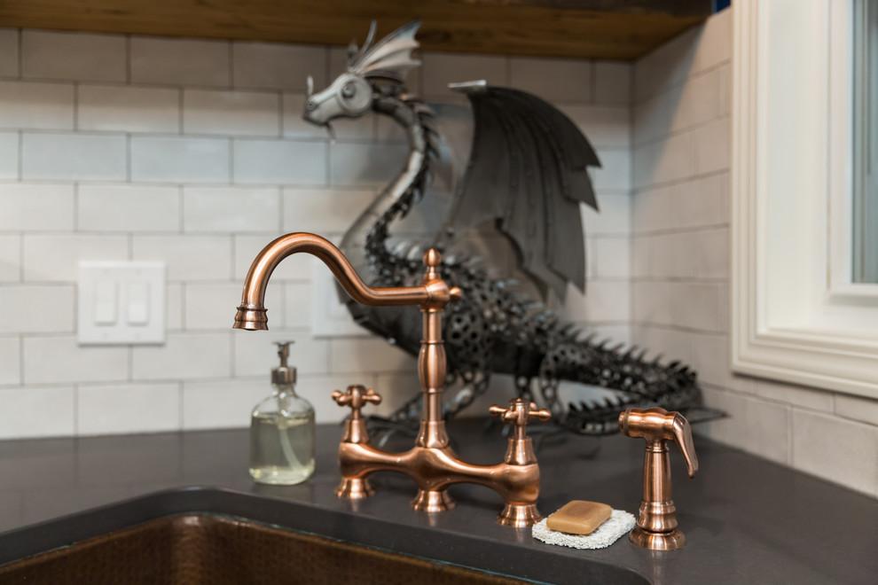 Новый формат декора квартиры: кухня в стиле рустика