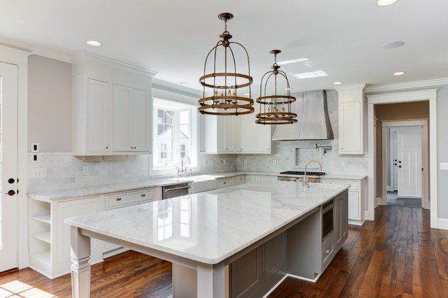 Arlington House Traditional Kitchen By Daltile And