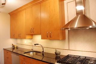 Arlington Medium High Rise Contemporary Kitchen - Contemporary ...