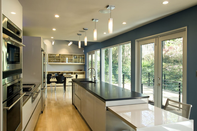 Arlington Residence contemporary-kitchen