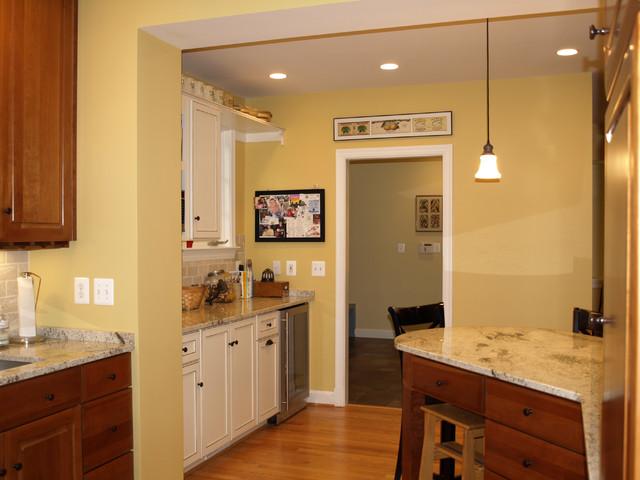 Arlington Virginia Addition traditional-kitchen
