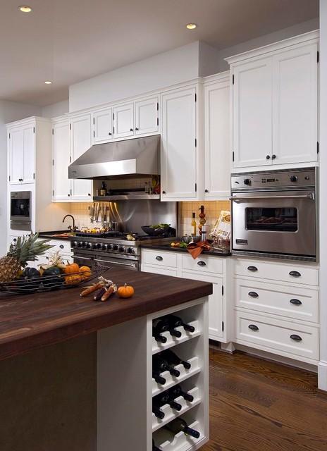 Arlington virginia traditional kitchen design with large for Kitchen remodeling arlington va