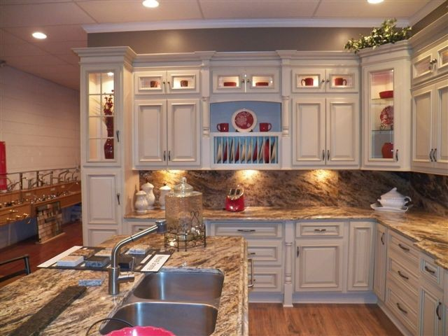 Arlington White Kitchen Cabinets Home Design Traditional