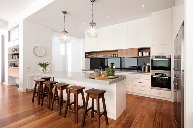 Armadale Residence Contemporary Kitchen Other Metro