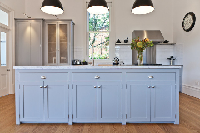 Armadale Shaker Style Face Framed Traditional Kitchen Melbourne
