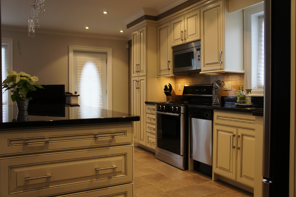 Armstrong Kitchen - All wood cabinets - Contemporary ...