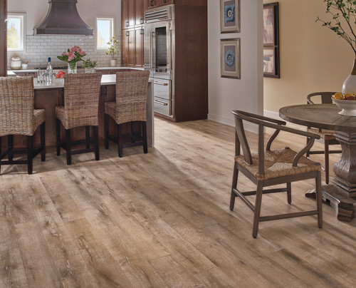 4 Non-Wood Hardwood Flooring Alternatives for Kitchens