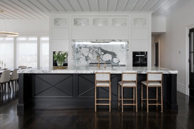 Arney Rd Winner Transitional Kitchen Auckland By Gold Kitchens Ltd Jordan Dale