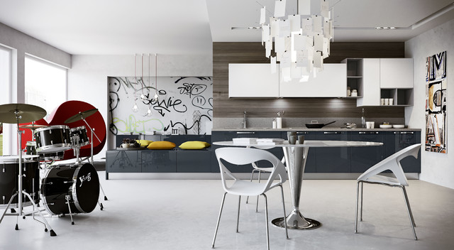 Arredo 3 - Young - Contemporary - Kitchen - other metro - by ...