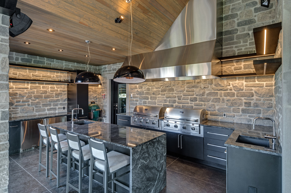 arriscraft fresco silverado stone home with citadel manitoulin mist quebec traditional kitchen other by general shale arriscraft fresco silverado stone home
