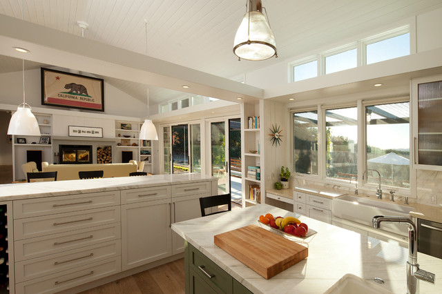 Arroyo Grande Modern Farmhouse Farmhouse Kitchen San