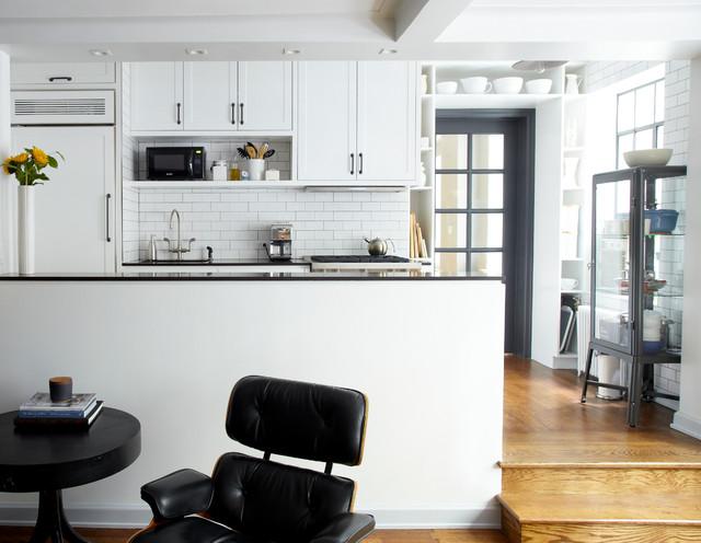 Art Deco Apartment Combinationrenovation Industrial