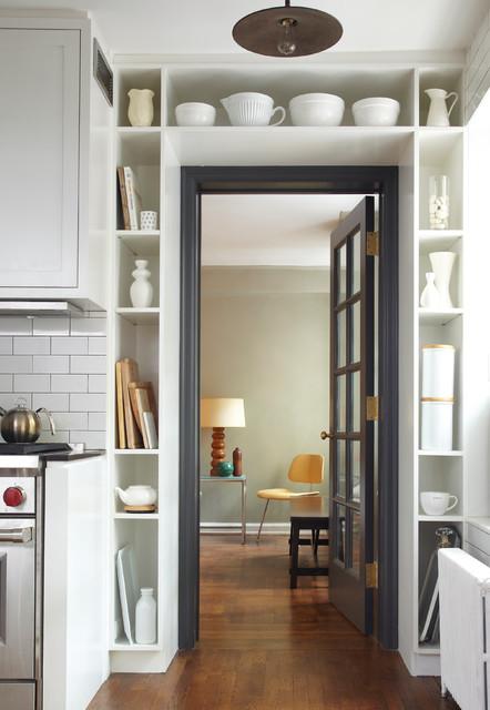 Art-Deco apartment combination/renovation industrial-kitchen