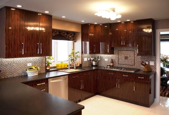Art deco design for Modern art deco kitchen design