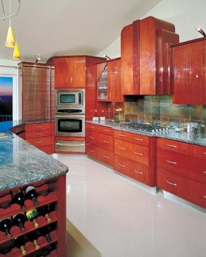 Art deco kitchen - Art deco kitchen cabinets ...