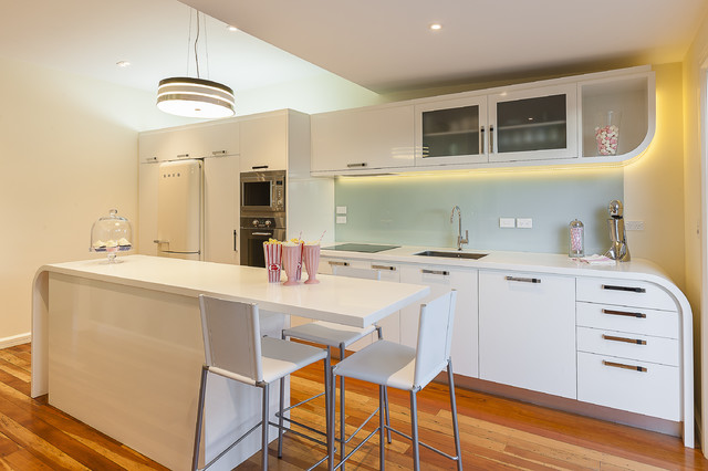art deco renovation contemporary kitchen auckland art deco kitchen dining kitchen design using hardwood