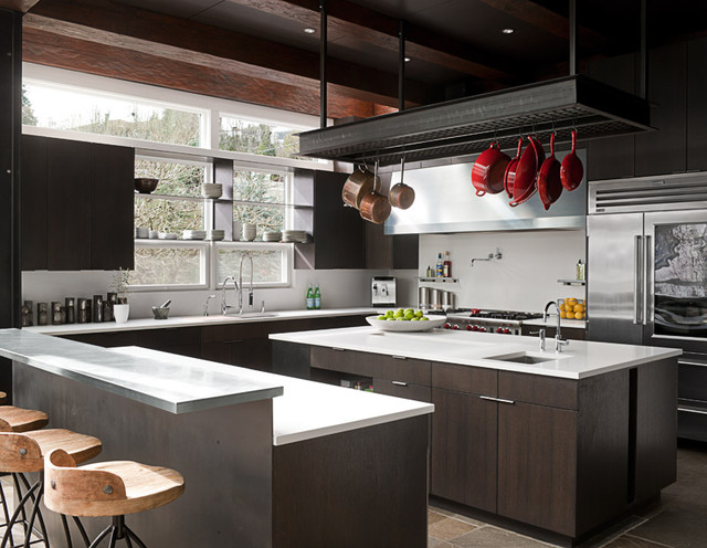 Art House Modern Kitchen Seattle By Deforest