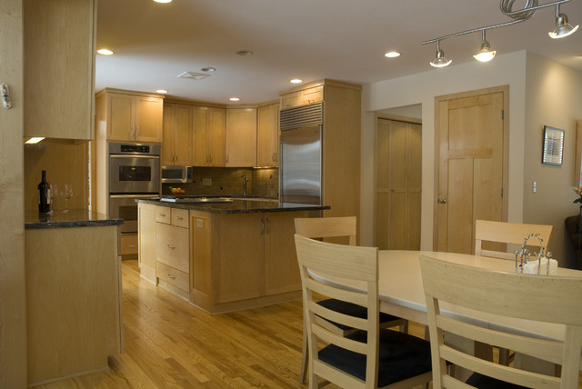 Art Infused Kitchen contemporary-kitchen