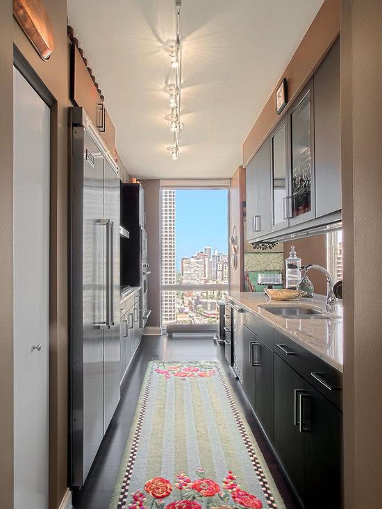 Medium Sized Galley Kitchen Design Ideas Renovations Amp Photos