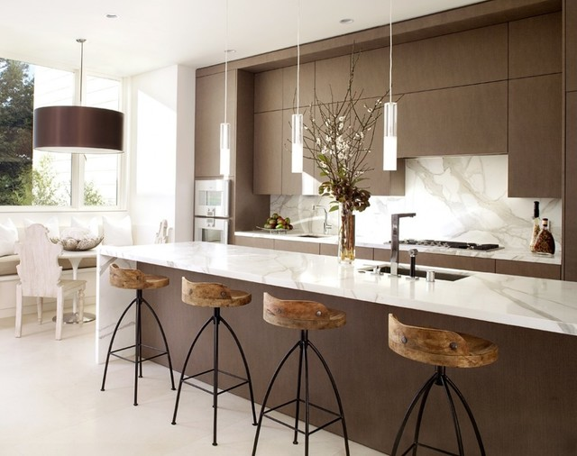 Ordinaire Arteriors Home Hinkley Bar Stools, Www.ClaytonGrayHome.com Modern Kitchen