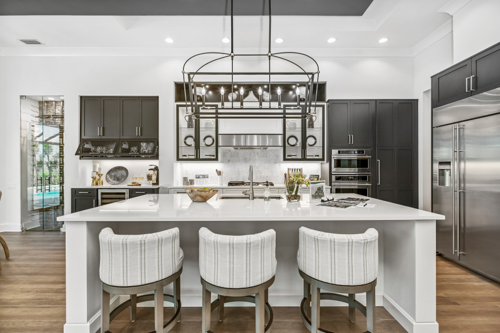 How to Style with the Most Popular Kitchen Cabinet Colors of 2019